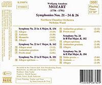 Sinfonien 21+22+23+24+26 - Produktdetailbild 1