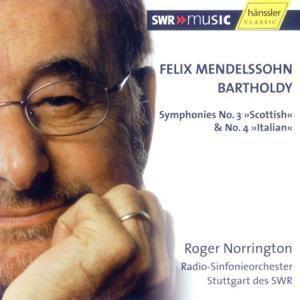 Sinfonien 3+4, Felix Mendelssohn Bartholdy