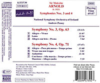 Sinfonien 3+4 - Produktdetailbild 1
