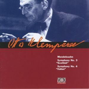 Sinfonien 3 & 4, Klemperer, Wiener Symph.