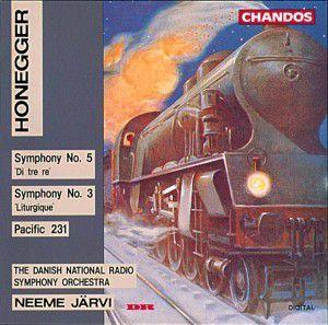 Sinfonien 3+5/Pacific 231, Järvi, Drso