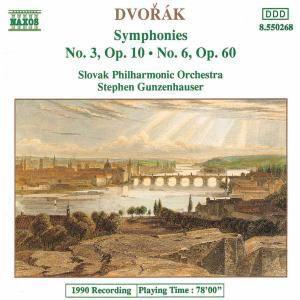 Sinfonien 3+6, Gunzenhauser, Slowak.Philh.