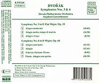 Sinfonien 3+6 - Produktdetailbild 1