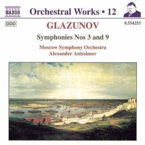 Sinfonien 3+9, Alexander Anissimov, Moscow So