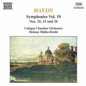 Sinfonien 32+33+34, Helmut Müller-Brühl, Kölner Kammerorchester