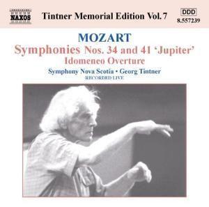 Sinfonien 34+41/Idomeneo, Georg Tintner, SO Nova Scotia