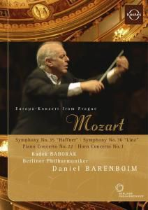 Sinfonien 35+36/Klavierkonzert 22, Daniel Barenboim, Radek Baborak, Bp