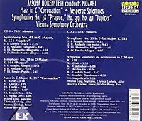 Sinfonien 38,39,41/Krönungsmesse - Produktdetailbild 1