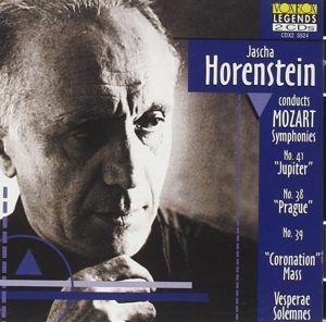 Sinfonien 38,39,41/Krönungsmesse, Berry, Horenstein, Wiener Symph.