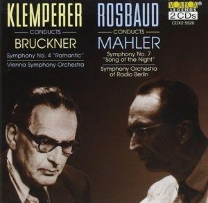 Sinfonien 4 Und 7, Klemperer, Rosbaud, Rso Berlin