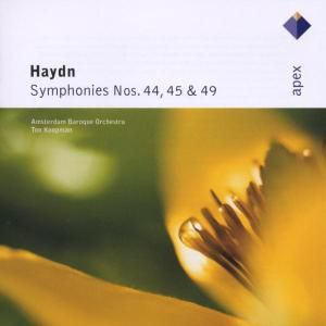 Sinfonien 44,45 & 49, Abo, Ton Koopman