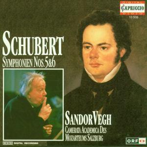 Sinfonien 5+6, Sandor Vegh, Camms