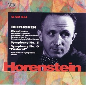Sinfonien 5+6, Horenstein, Vienna Pro Musica Symphony Vienna