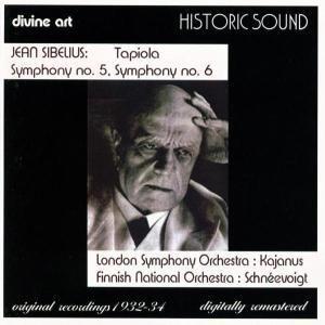 Sinfonien 5+6,Tapiola Op.112, Lso Kajanus, Fno Schneevoigt