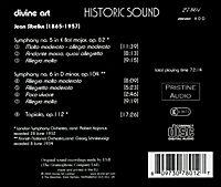 Sinfonien 5+6,Tapiola Op.112 - Produktdetailbild 1