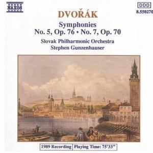 Sinfonien 5+7, Gunzenhauser, Slowak.Philh.
