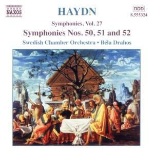 Sinfonien 50-52, Bela Drahos, Swedish Chamber