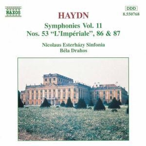 Sinfonien 53+86+87, Drahos, Nicolaus Esterhazy Sinf