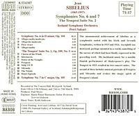 Sinfonien 6+7 - Produktdetailbild 1