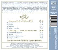 Sinfonien 8+20 - Produktdetailbild 1