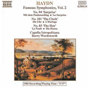 Sinfonien 83+94+101, B. Wordsworth, Cib