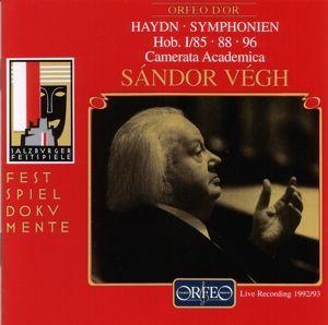 Sinfonien 85 B-Dur/88 G-Dur/96 D-Dur, Sandor Vegh, Camms