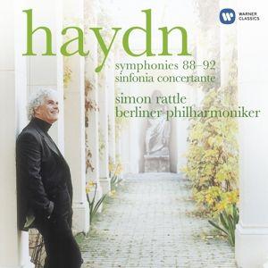Sinfonien 88-92, Simon Rattle, Bp