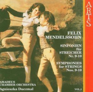 Sinfonien für Streicher Nr. 9 - 10, Amadeus Chamber Orchestra, Agnieszka Duczmal