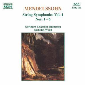 Sinfonien für Streicher Vol. 1, Nicholas Ward, Northern Chamber Orchestra