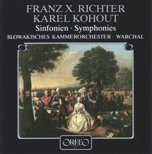 Sinfonien G-Dur/C-Dur/B-Dur/F-Moll, Warchal, Slowakisches Kammerorchester