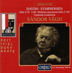 Sinfonien G-Moll/C-Dur/B-Dur Hob.I:39/60/105, Sandor Vegh, Camms