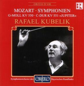 Sinfonien G-Moll Kv 550/C-Dur JupiterKv 551, Kubelik, Sobr