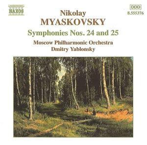 Sinfonien Nr. 24 & 25, Dmitri Yablonsky, Moskau Po