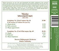 Sinfonien Nr. 24 & 25 - Produktdetailbild 1