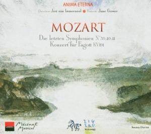 Sinfonien Nr. 39 - 41 / Fagottkonzert, Immerseel, Anima Eterna