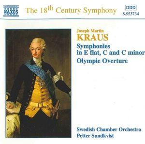 Sinfonien/Olympie-Ouvertüre, Sundkvist, Schwed.Kammerorch.