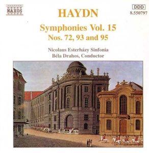 Sinfonien Vol. 15, Drahos, Nicolaus Esterhazy Sinf
