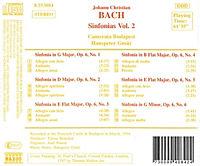 Sinfonien Vol. 2 - Produktdetailbild 1