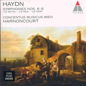 Sinfonien6-8, Harnoncourt, Cmw