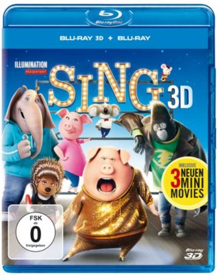 Sing - 3D-Version, Diverse Interpreten