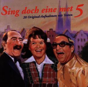 Sing doch eine met Folge 5 (20 Original-Aufnahmen mit Texten), Diverse Interpreten