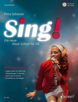 Sing! - Frauenstimme, m. Audio-CD, Petra Scheeser