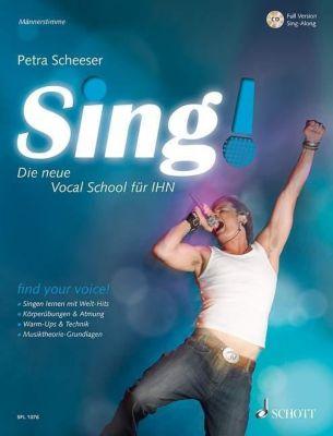 Sing! - Männerstimme, m. Audio-CD, Petra Scheeser