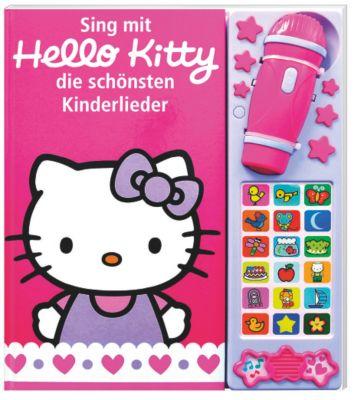 sing mit hello kitty die sch nsten kinderlieder buch. Black Bedroom Furniture Sets. Home Design Ideas