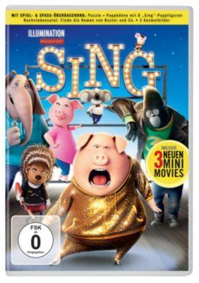 Sing (mit Spiel- & Spass-Überraschung)