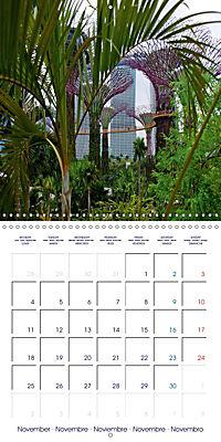 Singapore Garden City (Wall Calendar 2019 300 × 300 mm Square) - Produktdetailbild 11
