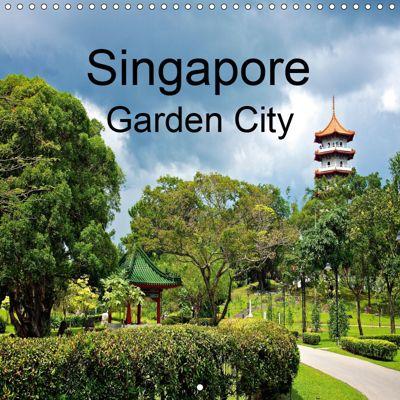 Singapore Garden City (Wall Calendar 2019 300 × 300 mm Square), Ralf Wittstock