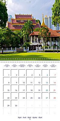 Singapore Garden City (Wall Calendar 2019 300 × 300 mm Square) - Produktdetailbild 4