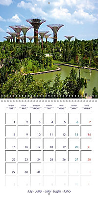 Singapore Garden City (Wall Calendar 2019 300 × 300 mm Square) - Produktdetailbild 7