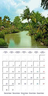 Singapore Garden City (Wall Calendar 2019 300 × 300 mm Square) - Produktdetailbild 12